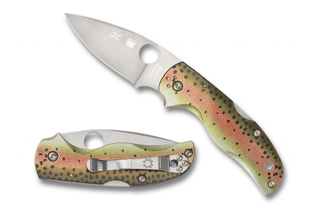 RELEASE - The Spyderco/Abel Reels Native 5 Rainbow Trout Exclusive