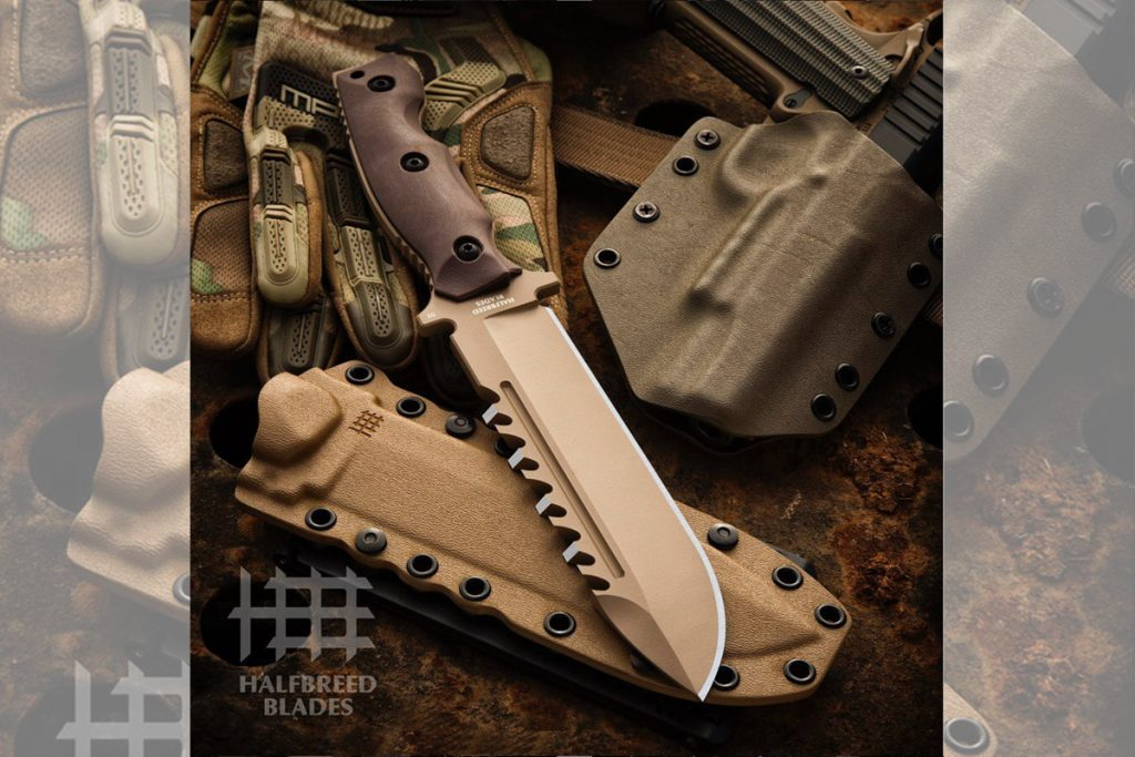 PR - Hardcore Hardware Australia is pleased to introduce to you HALFBREED BLADES.