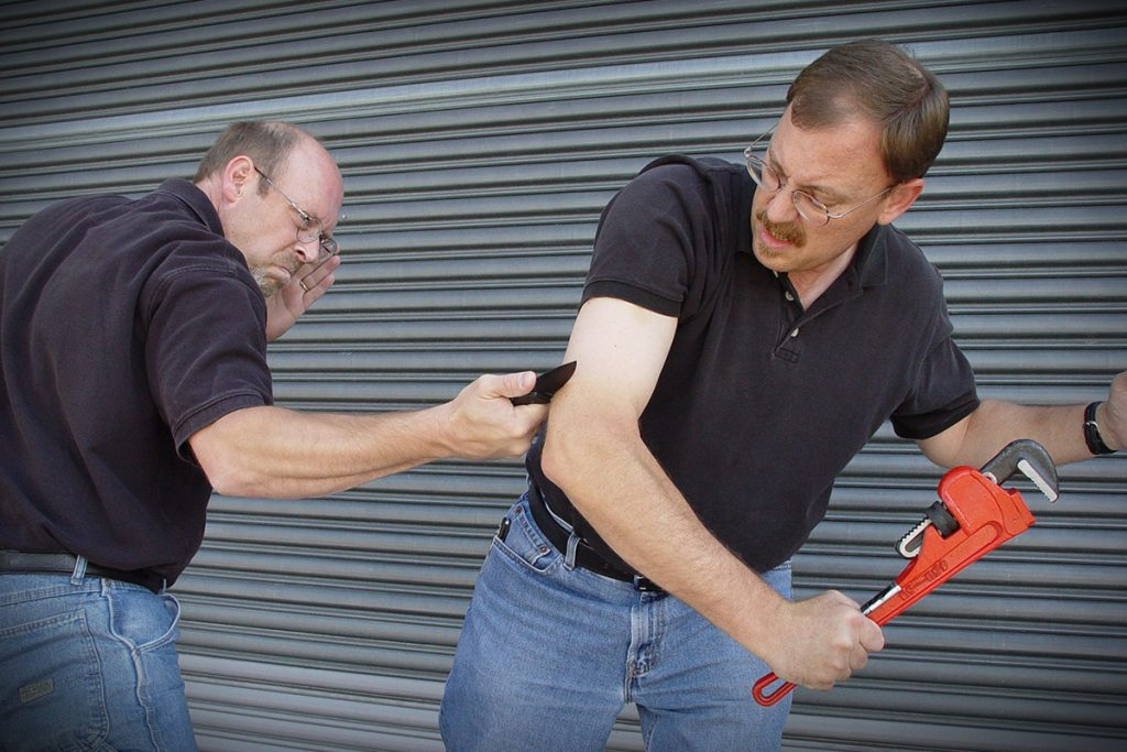 The Logic of Knife Self-Defense