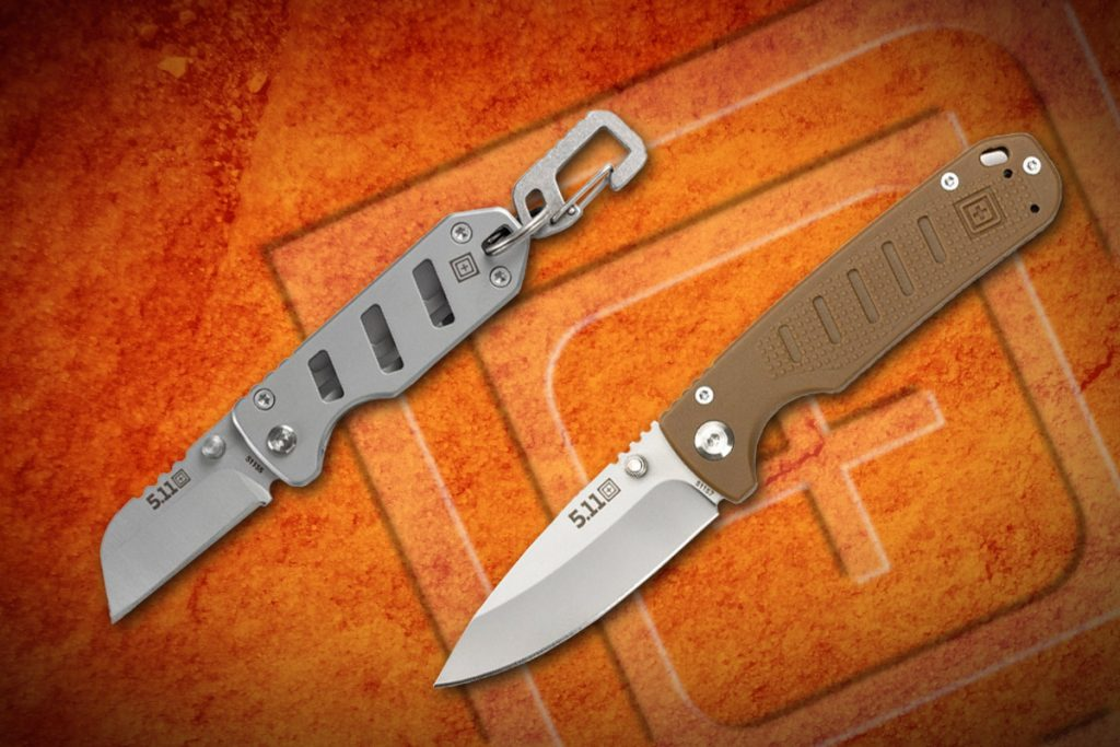 Two New Budget EDC Blades from 5.11 Tactical
