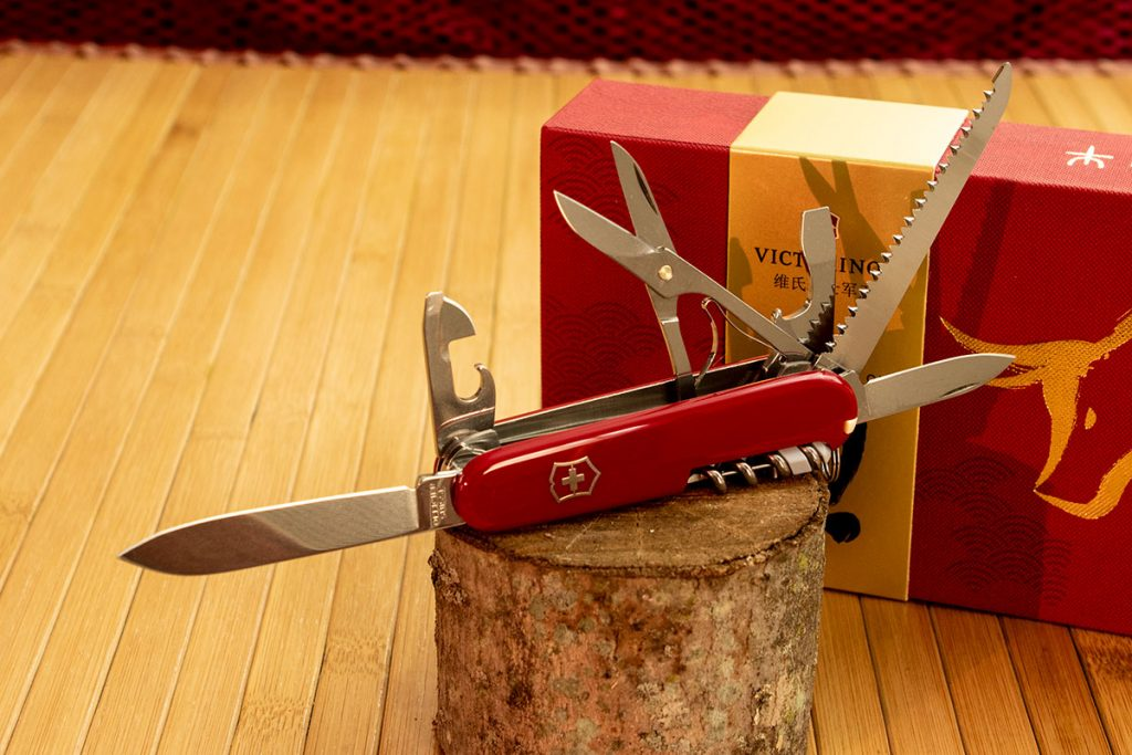 The Huntsman Year of the Ox Swiss Army Knife