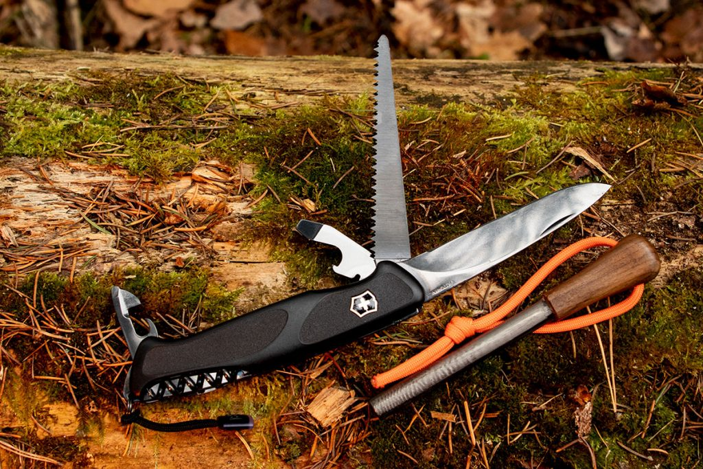The Onyx Black Ranger 55 is right at home in the woods