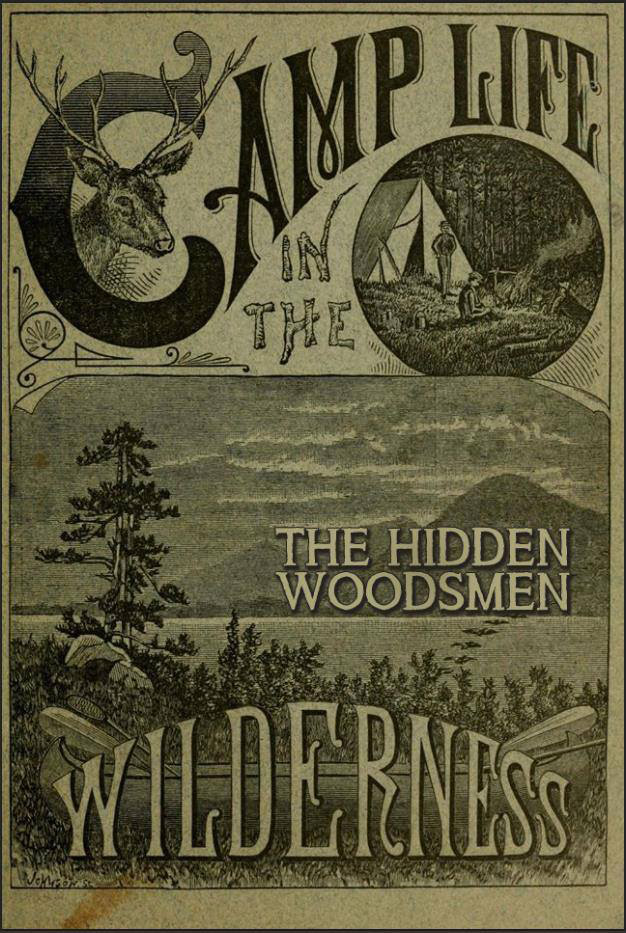 The Hidden Woodsman old timey logo.