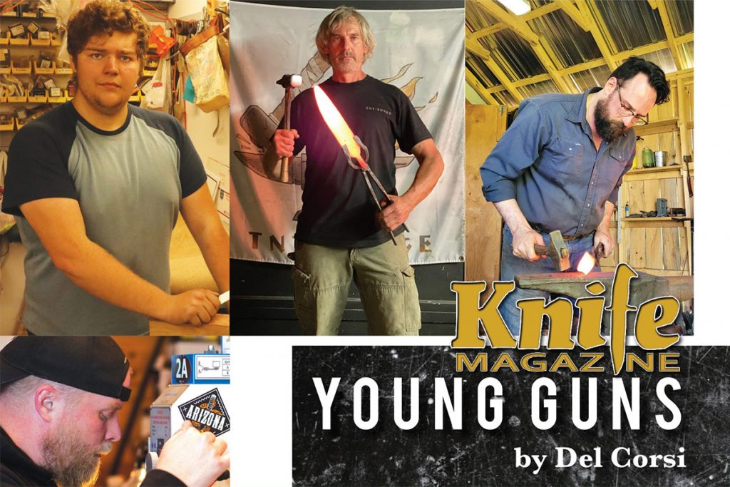 Knife Magazine Article on Five Custom Knife Makers is Worth the Read