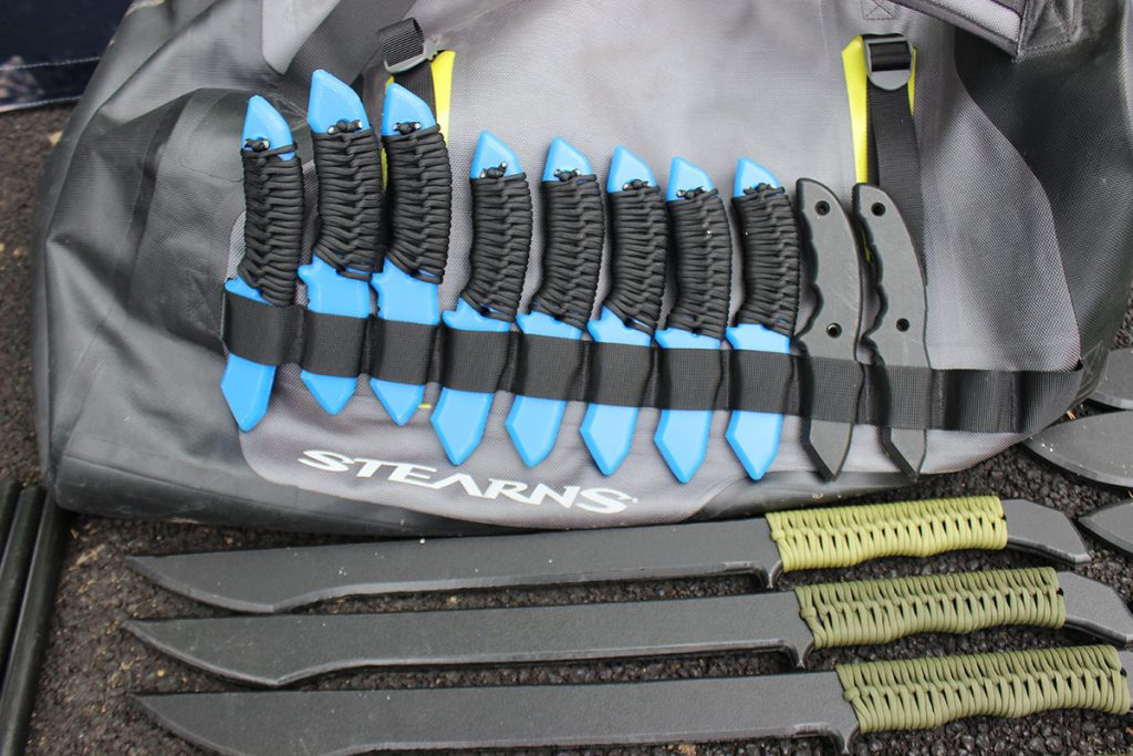 Hog Mountain Tool and Tactical make trainers in all chapes and sizes.
